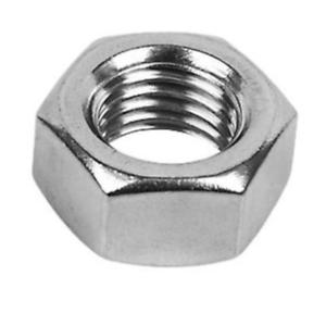 12mm Hex full nuts DIN 934 A2 en acier inoxydable Pack de différentes tailles M12