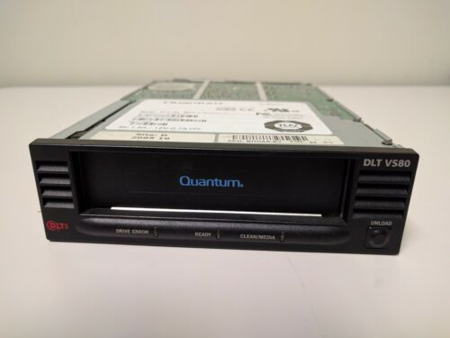"BHHAA-EY Quantum DLT VS80 Tape drive 40//80GB SCSI LVD internal 5.25/"" 000534-11"