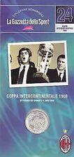 MILAN - COPPA INTERCONTINENTALE 1969 - ESTUDIANTES DOMATO A SAN SIRO - RIVERA