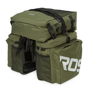 Roswheel 37L Waterproof 3 in 1 Cycling Bicycle Rear Rack Bike Pannier Seat Bag