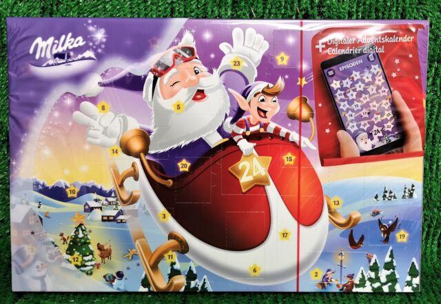 Milka Weihnachtskalender.Milka Digitaler Adventskalender 200gr Mit Zarter Alpenmilchschokolade