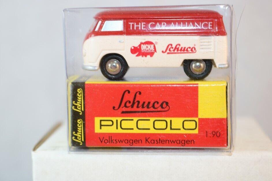 Schuco Piccolo Volkswagen Kasttenwagen The Car Alliance neu perfect mint in box