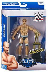 Cesaro-WWE-2014-Elite-Series-33-Wrestling-Figure-with-Andre-The-Giant-Trophy