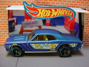2018 Chevelle Ss >> Details About 67 Chevelle Ss 396 Satin Blue 2018 Hot Wheels Mystery 2019 Multi Pack Loose