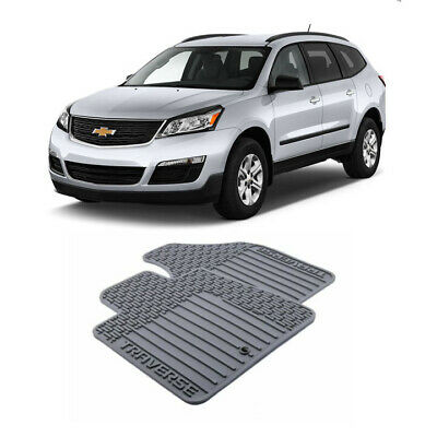 For Chevrolet Traverse Car Floor Mats Car FloorLiner Auto Floor Mats 2009-2017