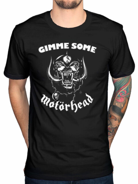 Official Motorhead Gimme Some T-Shirt Bomber Ace of Spades Punk Pig Lemmy Metal