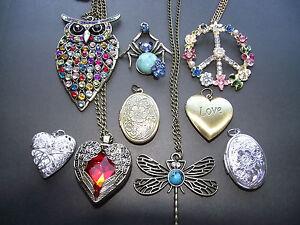 Uk jewellery necklace chains pendants lockets silvergoldbronze image is loading uk jewellery necklace chains pendants lockets silver gold aloadofball Image collections