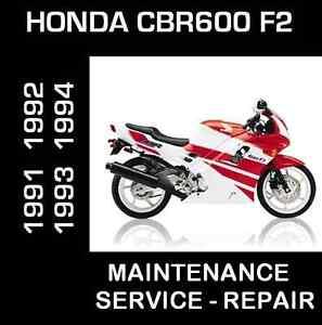 Service Manual Cbr F2