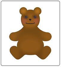 Sizzix Bigz Teddy Bear #4 die #659552 Retail $19.99 Cuts Fabric! SO SWEET!!