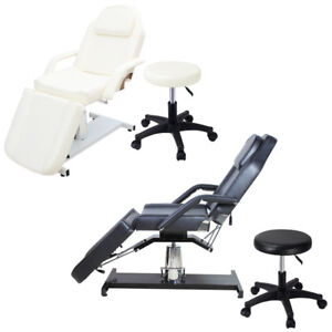 Hydraulic Massage Table Bed Beauty Salon Chair Therapy Tattoo Couch Stable Stand Ebay