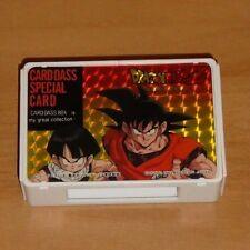 DRAGON BALL Z DBZ CARDDASS BOX SPECIAL CARD CARTE ULTRA RARE MADE IN JAPAN 1991