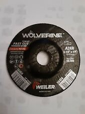 """Aluminum Oxide Type 27 Round Hole 4-1//2/"""" Diameter 25ea Walter 08l450"""