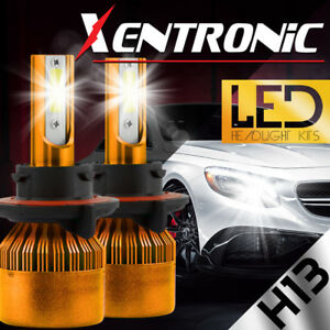 H13 488W 48800LM PHILIP LED Headlight Kit High/Low Beam Bulbs 6000K High Power
