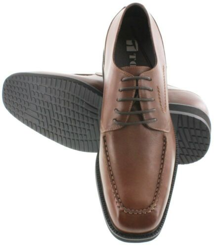 TOTO X67011-2.8 Inches Elevator Height Increase Dark Brown Leather Shoe
