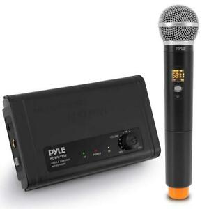 PYLE PDWM1950 Compact UHF Wireless Microphone System Canada Preview