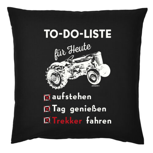 Kissen Bauer Traktor Kuschelkissen Motiv Landwirtschaft Deko Landwirt Sprüche