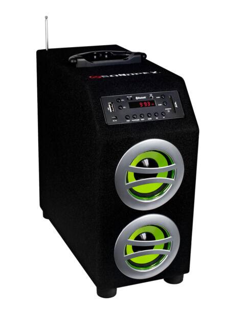 Sondpex Portable Bluetooth Speaker System & Digital Music Player CSF-D45B