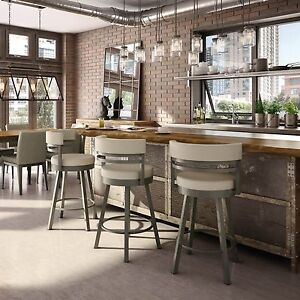 Image Is Loading Amisco Ronny Swivel Counter Bar Stool Or Spectator