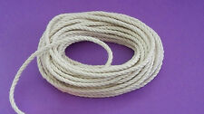 """1400 ft. 3 Strand Twisted  Cotton Cord/Rope 1/8"""" - Bird Toy Parts, Macrame'"""