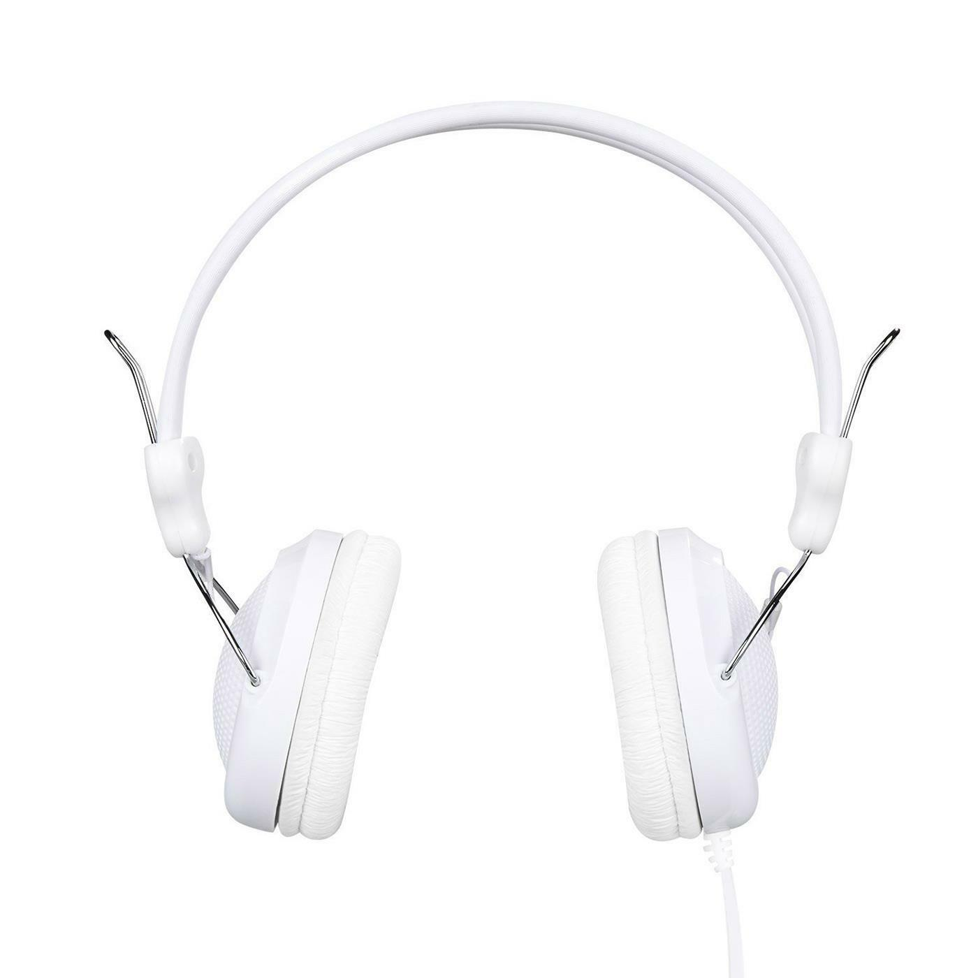 Headset Hoco W5 Headphones Wired Jack 0 1 8in Microphone Mobile Phone Pc White For Sale Online