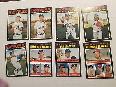 2020 Topps Heritage #10 Jedd Gyorko Los Angeles Dodgers Baseball Card