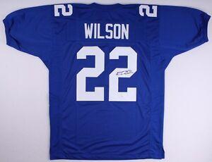 Details about David Wilson Signed Giants Jersey (JSA COA)