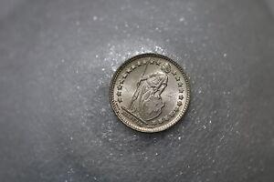SWITZERLAND-1-2-FRANC-1920-HIGH-GRADE-A64-K7410