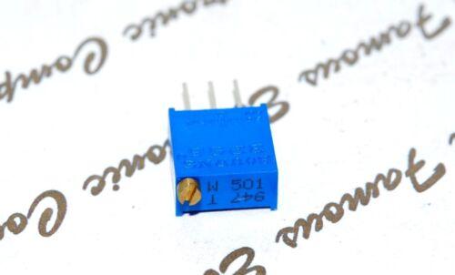 2pcs-BOURNS 1M 3296W-1-105LF Multiturn 25 Turns Potentiometer Trimmer