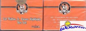(5) 2001 Fleer Cal Ripken Jr. 60 Card Career LE Box Sets+1982 ROOKIE RP $250
