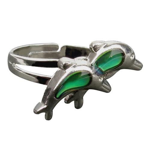 Stimmungsring Farbwechsel Ring Gefühlsring Finerring Farbe veränderbar