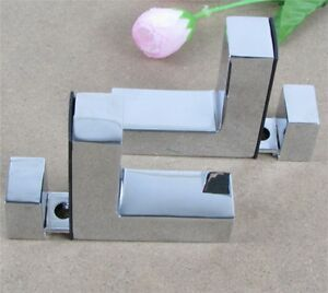 Regale-Klammern-zu-Unterstuetzen-Klemme-fuer-Glas-Holz-amp-Acryl-Regale-Hold-F-Form