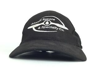 Image is loading Aircraft-Spruce-amp-Specialty-Co-Black-Baseball-Cap- 2469bc85d5e