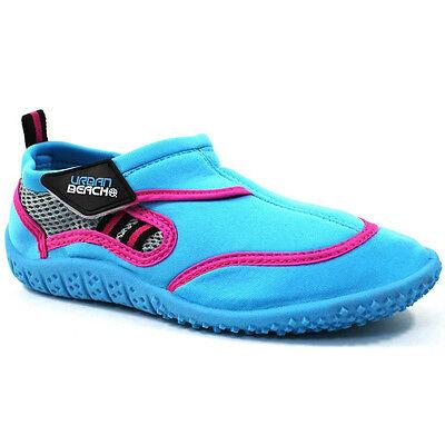 Girls Beach Shoes Aqua Pool Sea Waterproof Holiday Kids Urban UK Assorted Sizes