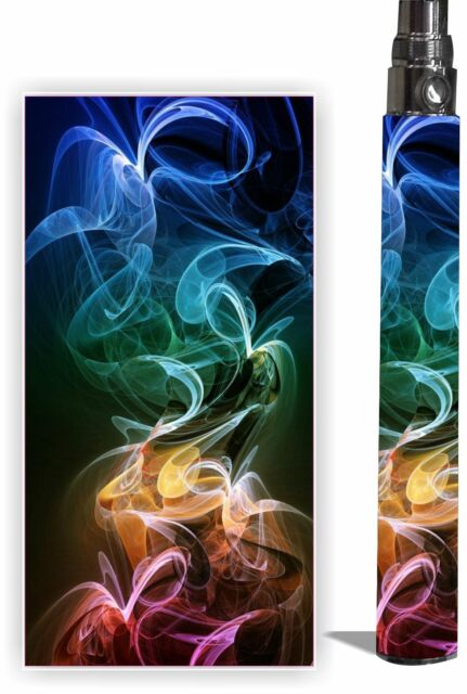 Battery Sticker Skins Fits eGo/Itaste CLK/ Type Vape Mod Pen Cover Wrap -VAPE #2