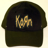 Korn Baseball Cap/hat Olive Green & Charcoal Authentic Licensed