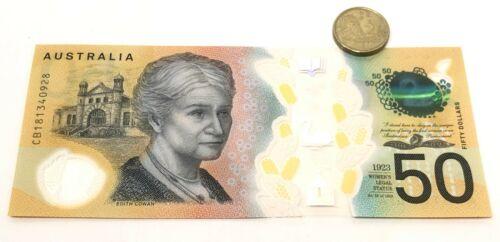 Bill spelling errors $50 Dollar Australian Error Note NEAR MINT CONDITION