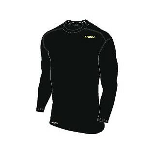 CCM Base Layer Training Compression Top//Funktionsshirt langarm uvP € 34,95