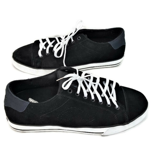 6428001c73e3a9 Mens adio shoes black suede leather canvas skate board blue sole jpg  640x640 Adio skate shoes