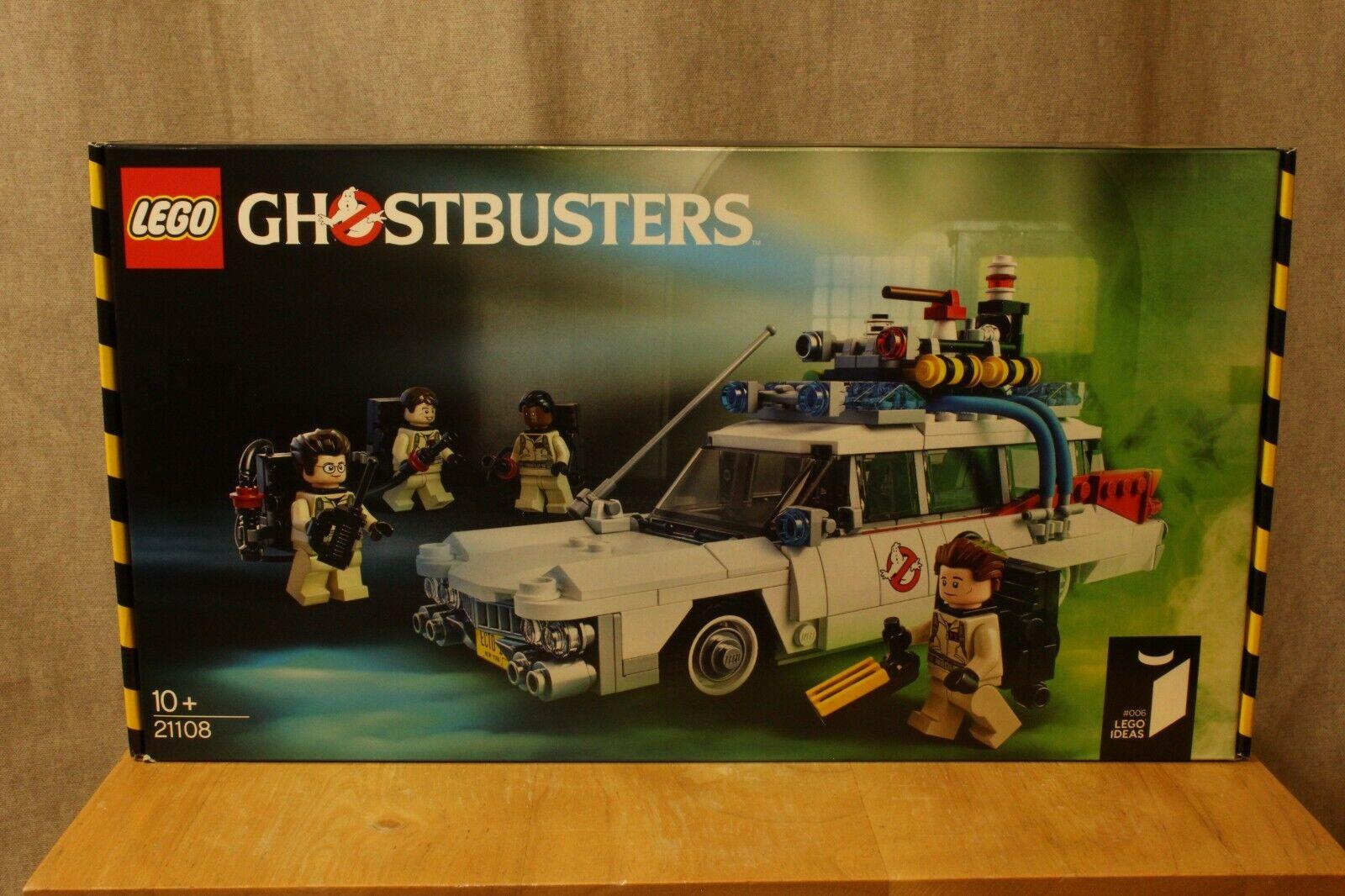 LEGO Ghostbusters Ecto-1 21108 New Sealed BNIB Retired