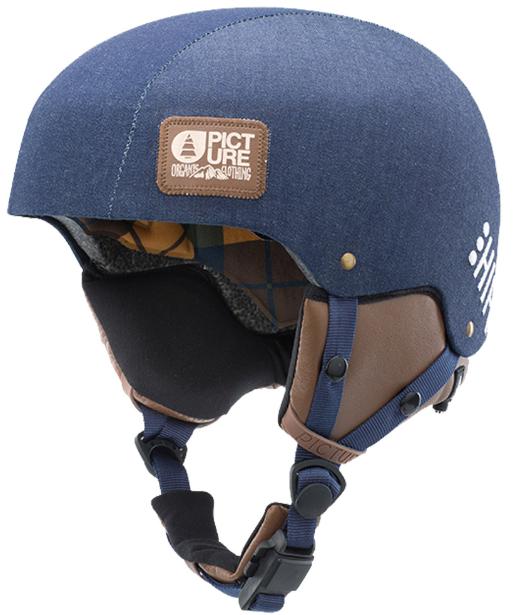 Picture Organic Tempo Hifi Ski- Snowboard Helm raw denim Unisex NEU