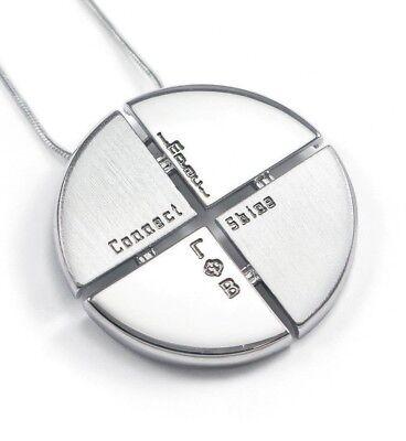 The Collegiate Standard Gamma Phi Beta Circular Pendant