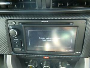 TOYOTA-86-STEREO-RADIO-HEAD-UNIT-RADIO-CD-MP3-SAT-NAV-ASSY-ZN6-GTS-04-12