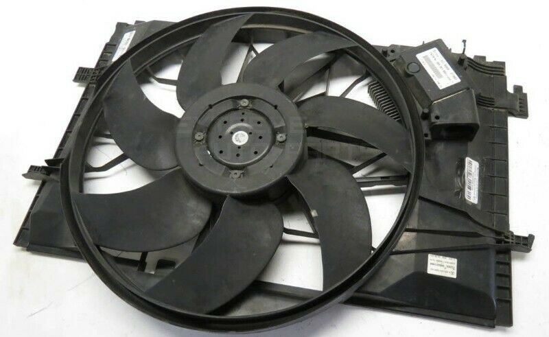 Mercedes Benz W203 Engine cooling fan with resistor for sale