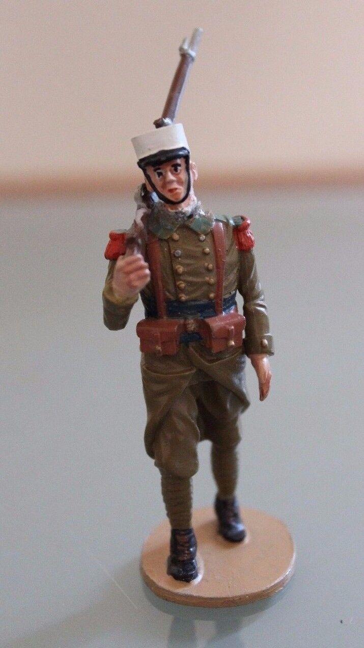Soldier Figurine LEAD Antoine PONT Legionnaire at the parade kepi white