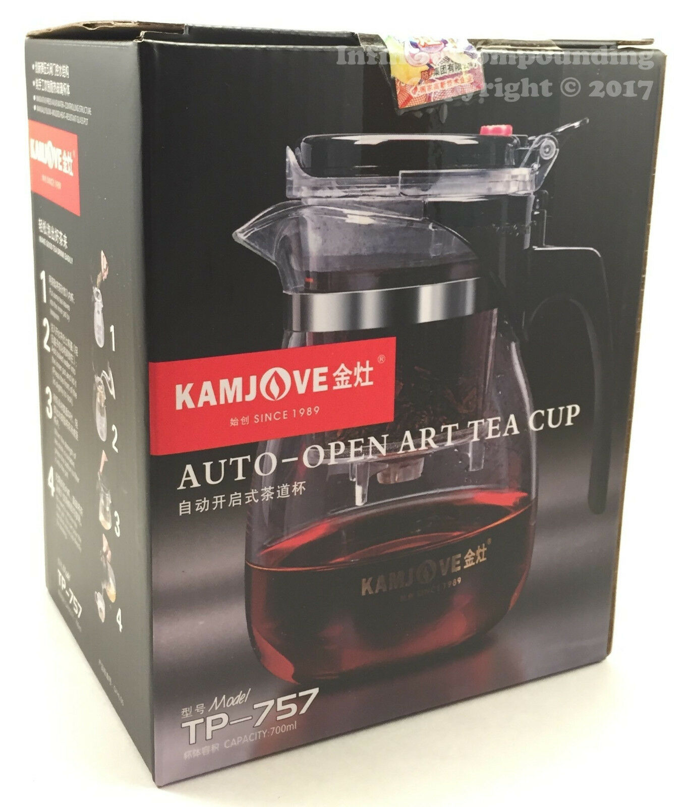 Home & Garden Tea Kettles Kamjove E 400