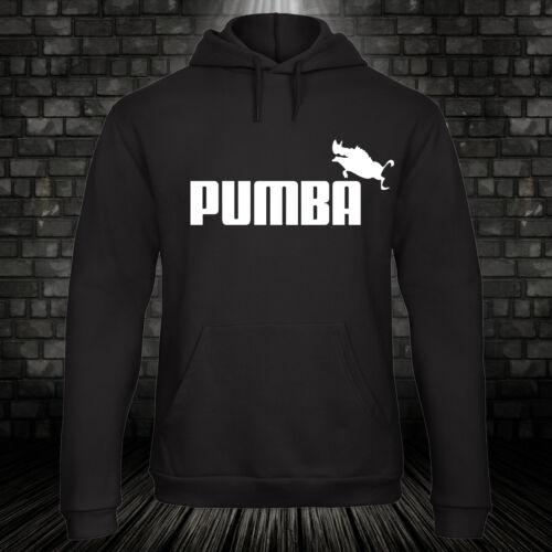 Pumba Hoodie Fun Kult Timon König Warzenschwein Löwen Cartoon Comic XS-5XL