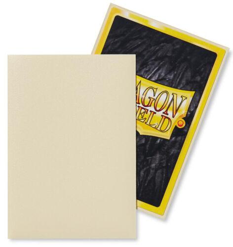 60 DRAGON SHIELD IVORY MATTE JAPANESE Card Sleeves Mini Deck Protector AT-11117
