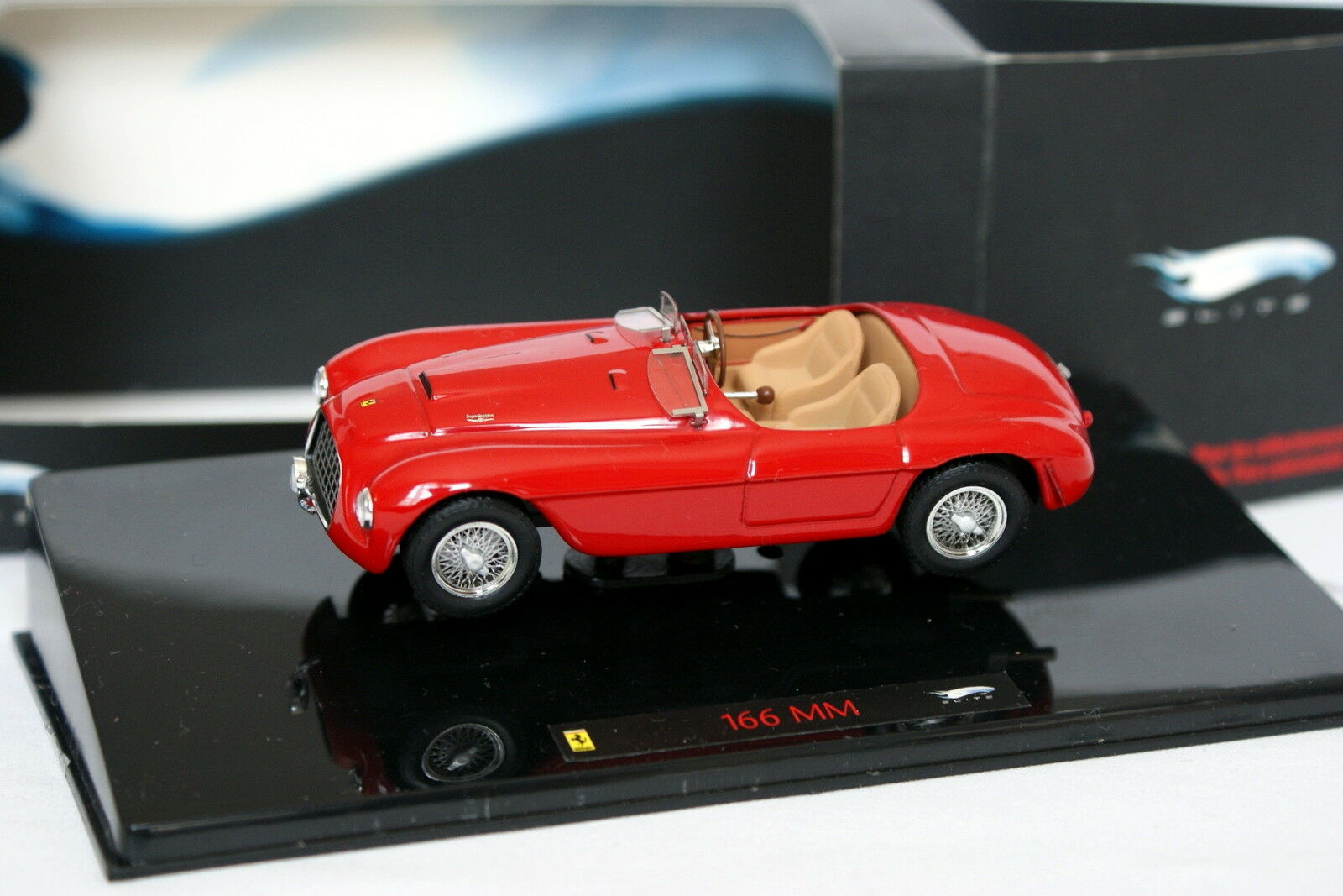 Hot Wheels 1 43 - Ferrari 166 MM Red
