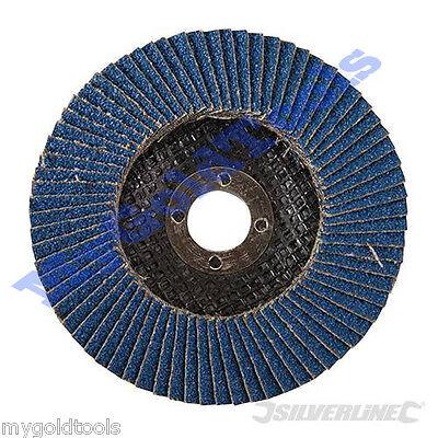 Disques à lamelles zirconium Pour le meulage et finition 115mm Grain 40 633890