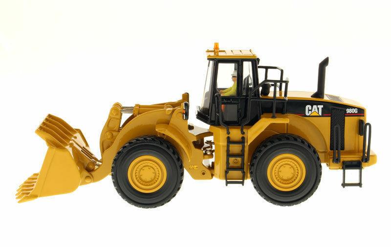 DM 1  50 Caterpillar 980G Wheel Loader Diecast 85027 Construction Vehicle Model  100% authentique